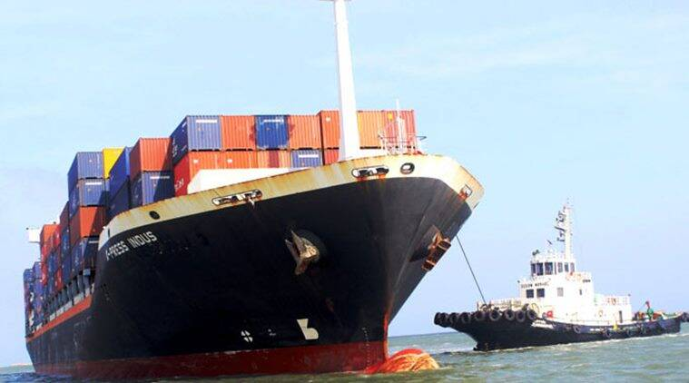 Krishnapatnam Port in Andhra Pradesh. (Photo-KPCL website)