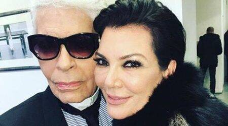 kris jenner, Karl Lagerfeld, kris jenner news, kris jenner Karl Lagerfeld, kris jenner shows, entertainment news