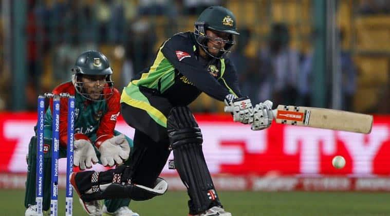 Live Cricket Score, Australia vs Bangladesh, ICC World Twenty20: Australia take on Bangladesh in Bengaluru on Monday. (Source: AP)