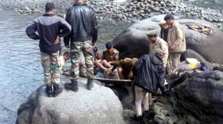 Chamba: Two IAF jawans washed away after sudden rise of water level in Ravi
