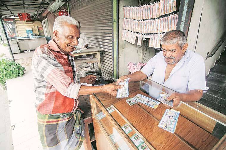GST, Lottery workers Mumbai GST, Lottery Bachao Mahakruti Samiti, Mumbai lottery, Mumbai news, indian express news