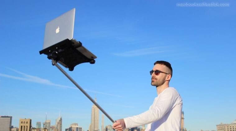 The day when people walk on streets with unwieldy MacBook selfie stick might just come true