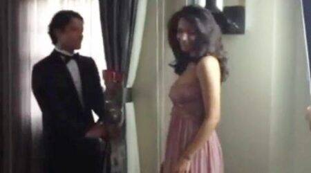 Mallika Sherawat features in Bruno Mars song 'Whatta man', watch behind the scenesvideo