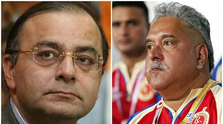 Jaitley denies Mallya met him before leaving India