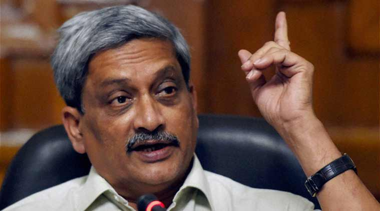 Manohar Parrikar, Parrikar, Defence minister Manohar Parrikar, Defence, defence production, Lok Sabha, India, India news