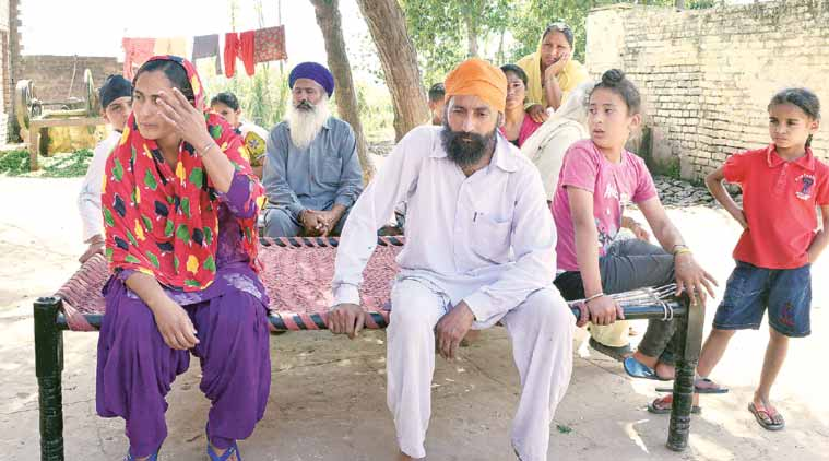 """I didn't know Sajan was after my daughter,"" says Manpreet's father Baljinder."