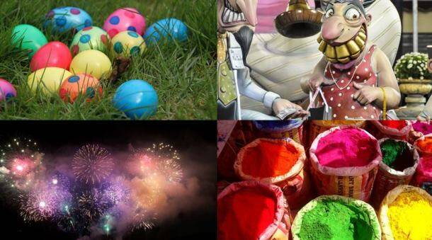 A burst of fireworks and colour: Festivals celebrated across the world in March