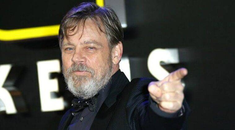 Star Wars, Star Wars movies, Star Wars news, the last jedi, the last jedi news, the last jedi cast,  Star Wars The Force Awakens, Luke Skywalker, Luke Skywalker star wars, Mark Hamill, Mark Hamill star wars, Mark Hamill news, han solo, entertainment news, indian express, indian express news