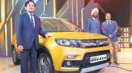 Maruti launches Vitara Brezza at Rs 6.99 lakh; no petrol variant fornow