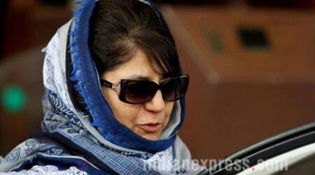 Govt on, off, on: Mehbooba in Delhi for 'crucial' talks with PM