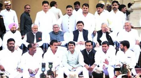 Samajwadi Party: 35 new MLCs take oath