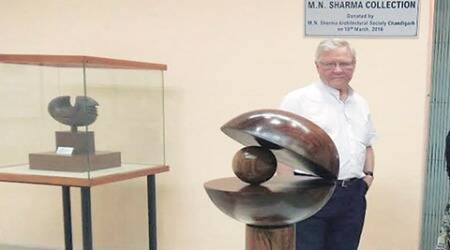 These priceless artworks are my gift to Chandigarh, future generations: M N Sharma