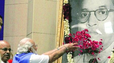 Sixth Ambedkar memorial lecture- PM says it again: Reservation is a right nobody cansnatch