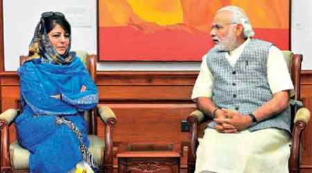 After meeting PM, Mehbooba set to be J&K CM: 'Trust him'