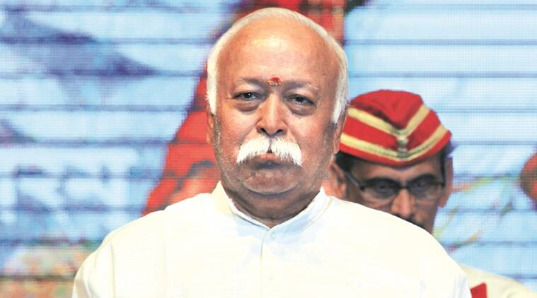 Mohan Bhagwat, rss, rss chief, Mohan Bhagwat on law, hindu, hindu should not rise, sangh, indian express news, india news