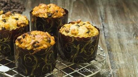 How to bake eggless banana chocochip muffins without anoven