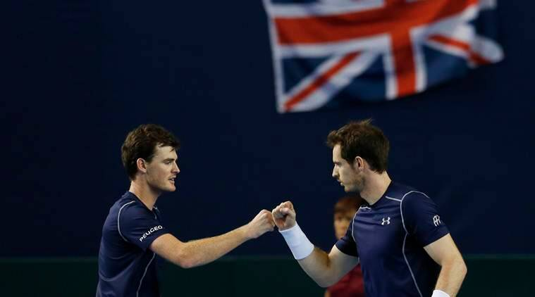 Novak Djokovic Beaten As Murray Brothers Double Up For Victory Sports News The Indian Express