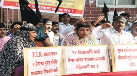 Murud tragedy: Parents stage protest, varsity formscommittee