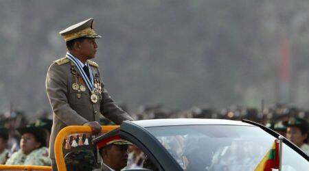 Myanmar army chief says 'no right to interfere' as UN weighs Rohingyacrisis
