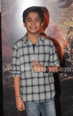 The Jungle Book, Neel Sethi, Neel Sethi photos,Vishal Bhardwaj, Siddharth Roy Kapur, Neel Sethi mowgali, Neel Sethi film, The Jungle Book actor, The Jungle Book news, The Jungle Book cast, entertainment news