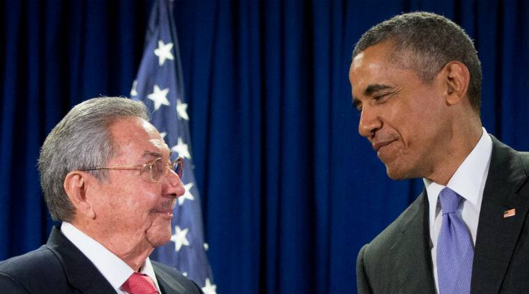 US President, Barack Obama, Cuban President, Raul Castro, US-Cuba relations, US-Cuba affairs, US-Cuba trade, US-Cuba talks, Cuba news, America news