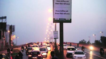 Odd-even round 2, day 1: 500 offenders till 1 pm, air quality dips