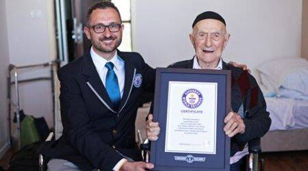 Israeli Holocaust survivor, born in 1903, is now the world's oldest man