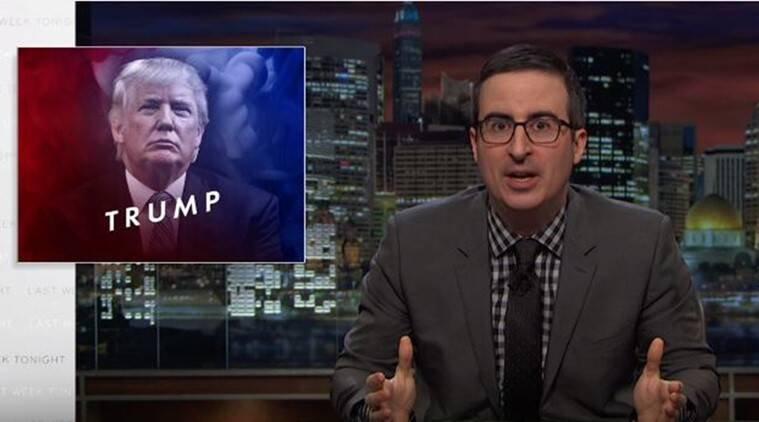 British host John Oliver on Republican candidate Donald Trump (Source: YouTube/Last Week Tonight)