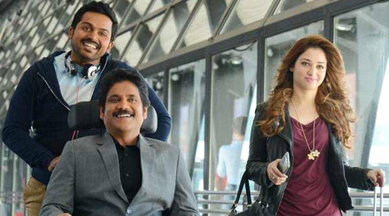 oopiri, oopiri review, oopiri telugu film, oopiri movie review, oopiri twitter review, oopiri twitter reactions, oopiri cast, oopiri release, oopiri news, oopiri latest news, oopiri shows, Nagarjuna Akkineni, Karthi, Tamannaah Bhatia, Prakash Raj, entertainment news