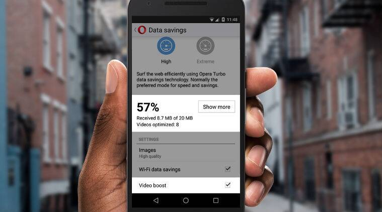 Watching videos on Opera Mini just got faster and cheaper! Here's