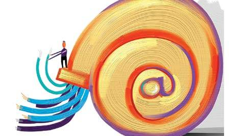 National  Optical Fibre Network project: Fast internet, slow implementation - The Indian Express