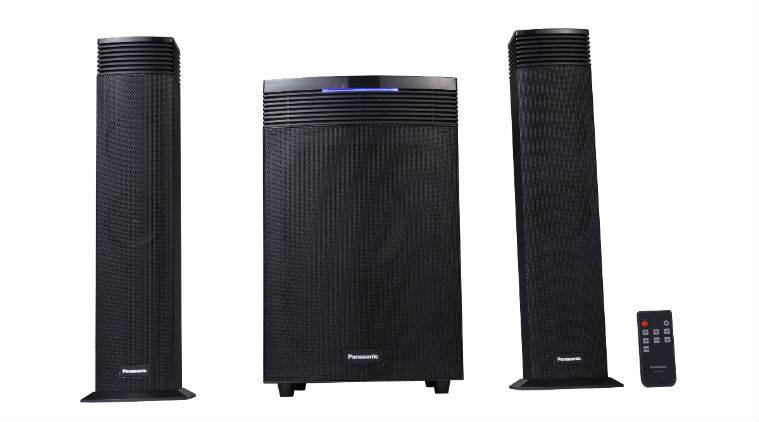 Panasonic SC-HT21GW-K comes with built-in Bluetooth and offers extra bass with 65W RMS output