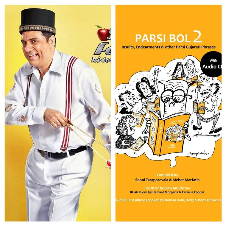Actor Boman Irani, along with theatre veterans Dolly and Bomi Dotiwala, has lent his voice to an audio CD, speaking the phrases out loud the way they should be said.