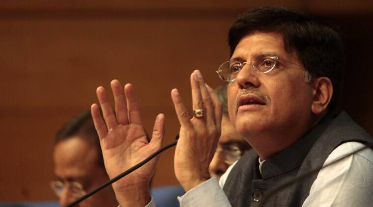 Piyush Goyal, Arunachal Pradesh, Union Power minister, Thermal plant in Arunachal Pradesh, Arunachal Pradesh thermal plant, DDUGJY, DDUGJY scheme, india news, arunachal pradesh news, latest news