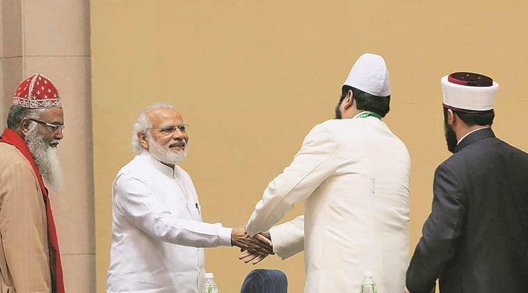 modi, world sufi forum, sufi, pm modi, islam, modi, allah, muslims, modi allah, Modi at World Sufi Forum, indian express, modi news, india news