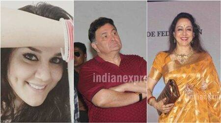 Preity Zinta, Rishi Kapoor, Hema Malini in 'feast, pray, love' mode on Easter