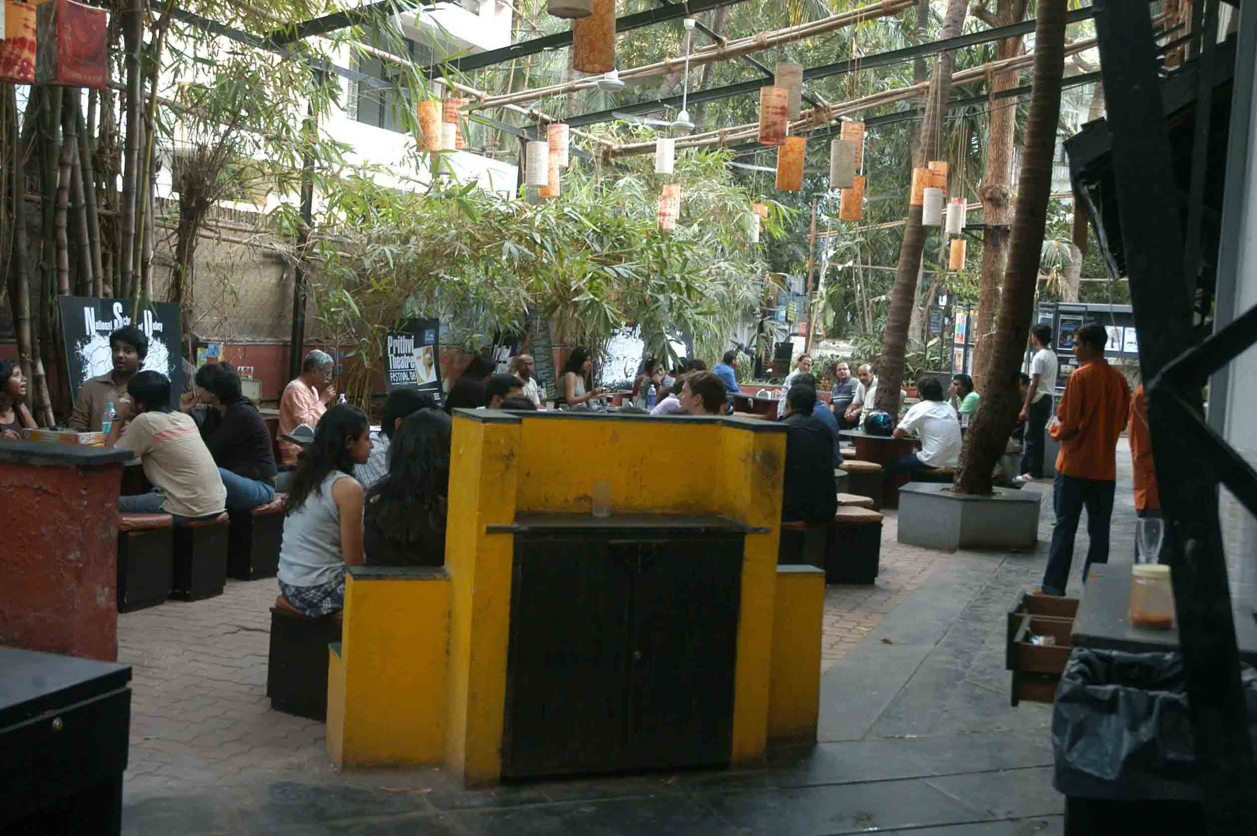 Prithvi theatre Canteen. *** Local Caption *** Prithvi theatre Canteen. Express photo by Ashish Shankar. Mumbai. 25/08/2008
