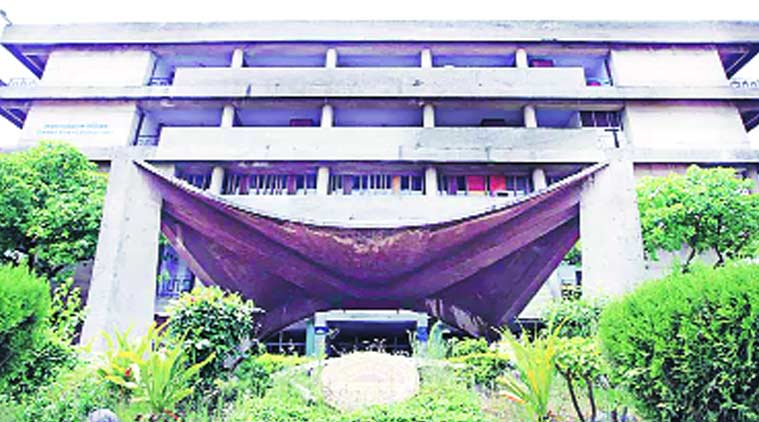 The administrative block of Panjab University. Express Archive