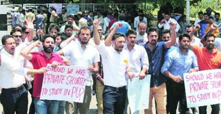 Eying political career, PU student leaders campaign for parent parties in Punjab