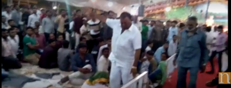 VIDEO: BJP MP Radadiya caught on camera 'kicking' elderly man
