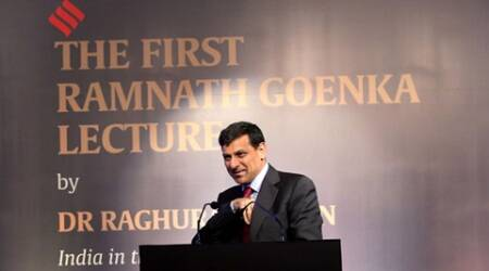 Ramnath Goenka Lecture series: Probe illegality, but don't kill lending, cautions Raghuram Rajan