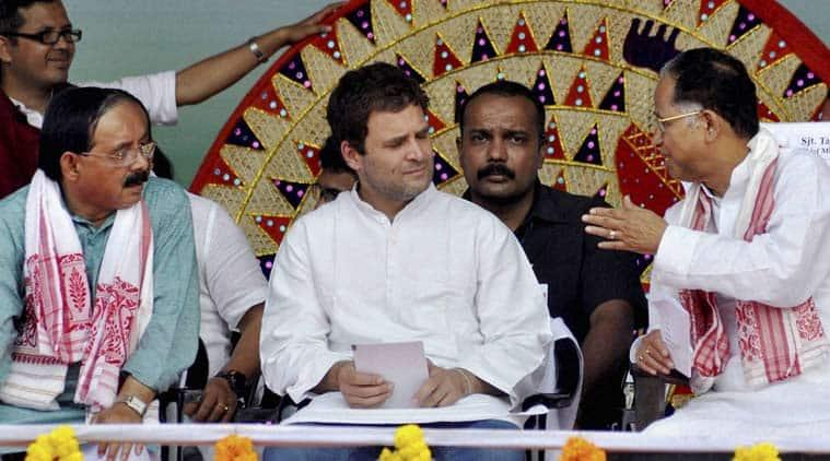 rahul gandhi, assam, assam congress, rahul gandhi assam, assam elections, assam elections 2016, 2016 assam polls, narendra modi, ragul gandhi narendra modi, jnu row, epf, epf tax, india news, assam news, northeast news, latest news