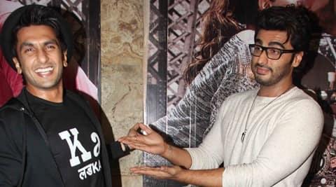 Arjun Kapoor evolving as an actor: Ranveer Singh