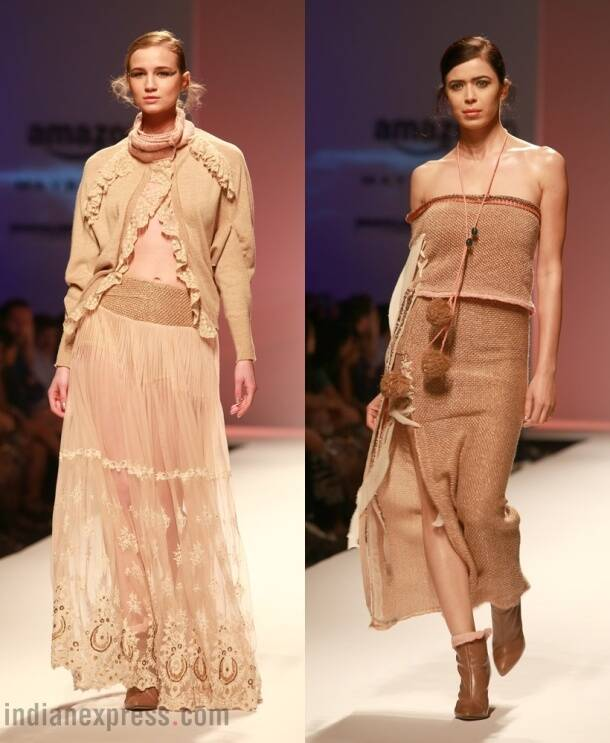 AIFW A/W'16: Rina Dhaka, Kiran Uttam Ghosh draw inspiration from the '90s