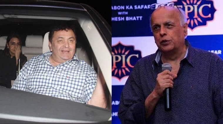 Rishi kapoor, Mahesh Bhatt, Mahesh Bhatt Show, Khwaabon ka Safar with Mahesh Bhatt, Rishi kapoor Mahesh Bhatt fan, Entertainment news