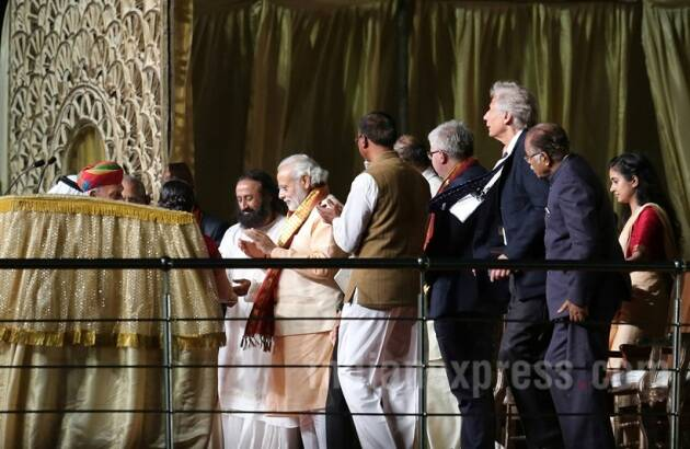 World Culture Festival, art of living, Sri Sri Ravi Shankar, PM Modi at World culture festival