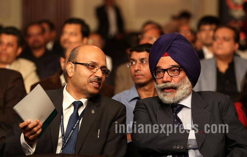 Ramanth Goenka lecture, RNG Lecture, Raghuram Rajan, RBI Governor Raghuram Rajan, Raghuram Rajan First RNG Lecture, Raghuram Rajan Ramanth Goenka Lecture, Dr Raghuram Rajan, Anant Goenka, Indian Express, Ramanth Goenka Lecture pics, RNG Lecture pics, RNG lecture Photos