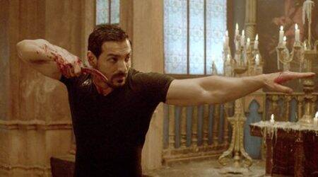 Audience reacts to John Abraham's Rocky Handsome, watchvideo