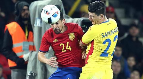 Romania hold Spain to goalless draw in Euro 2016 warm-up
