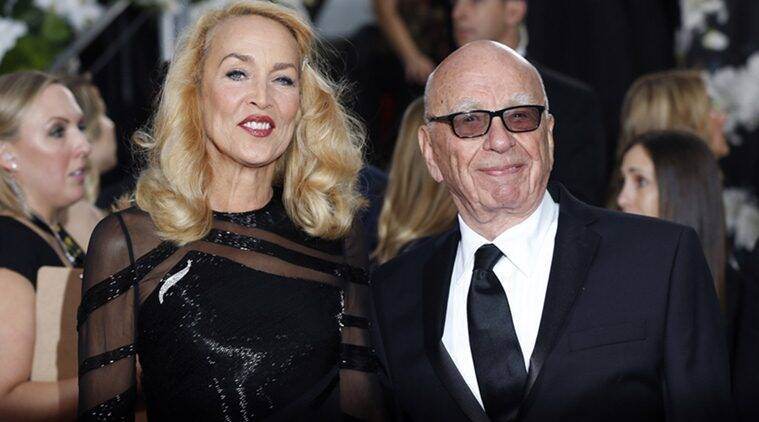 Rupert Murdoch, Rupert Murdoch Wedding, Rupert Murdoch Marraige, Rupert Murdoch Married, Jerry Hall, Rupert Murdoch Jerry Hall, Rupert Murdoch Jerry Hall Married, Rupert Murdoch Marries Jeery Hall, Rupert Murdoch Wife, Rupert Murdoch Wedding News, Rupert Murdoch Marraige News, Rupert Murdoch Jerry Hall are married, Entertainment news